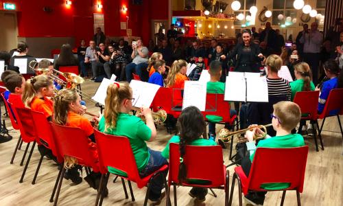 Concert blazersklas Sint Odaschool