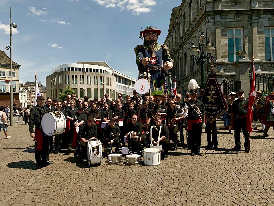 Reuzenstoet Harmonie Maastricht 2019