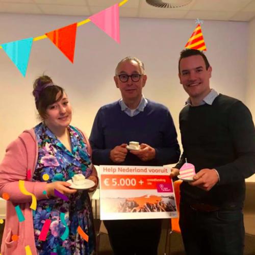 Eerste prijs 'Help Nederland Vooruit'