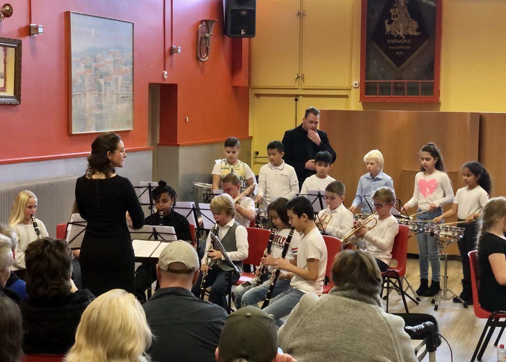 Odaschool concert, harmonie Maastricht